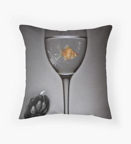 Catfishing Throw Pillow