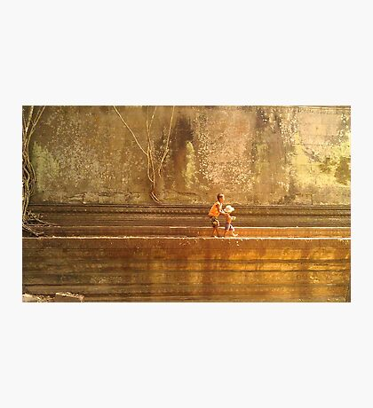 Cambodian Kids Photographic Print