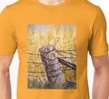 A lonely fence in Australia Unisex T-Shirt