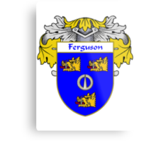Ferguson Coat of Arms/Family Crest Metal Print