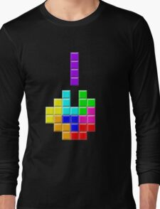 TETRIS - F*ck You Long Sleeve T-Shirt