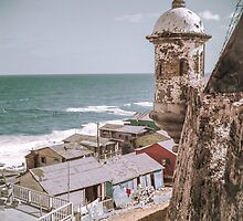 Old San Juan, Puerto Rico, 1938  by stylings