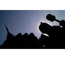 Thailand Temple. Photographic Print