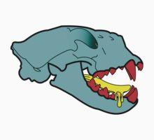Puma Skull in Cartoon Style Kids Clothes