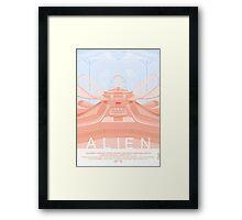 Alien (1979) Movie Poster Framed Print