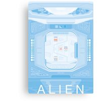 Alien (1979) Poster - Airlock Canvas Print
