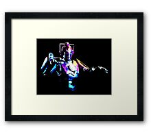 Cyberman Alpha [Print] Framed Print