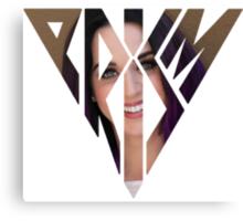 Katy Perry purple hair Prism Canvas Print