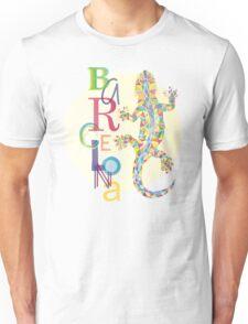 Fashion Barcelona City Lizard Unisex T-Shirt