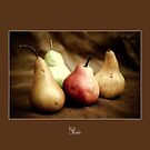 Juicy pears by Kell Jeater