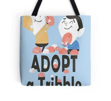 tribble adoption Tote Bag