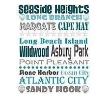 Jersey Shore Subway Art Photographic Print