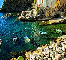 Riomaggiore - Italy by NiloB123