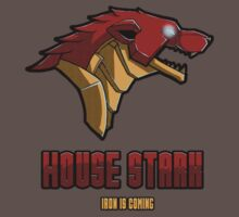 iron man house stark t-shirt by Fizziponi