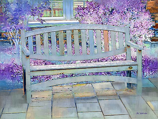 Pastel Patio by RC deWinter