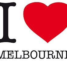I ♥ MELBOURNE by eyesblau