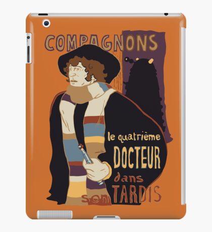 Le Fourth Doctor iPad Case/Skin