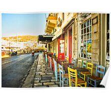 Street Scene Poster