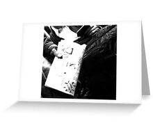 Tablets Greeting Card