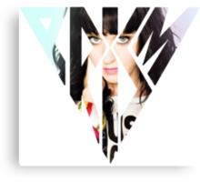 Katy Perry posing Prism Canvas Print