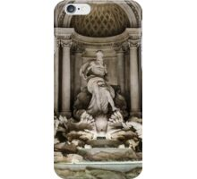 Rome - The Trevi Fountain at night iPhone Case/Skin