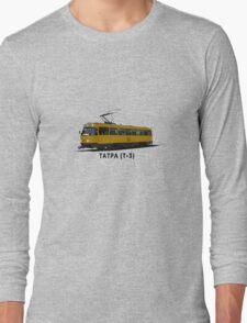 Tatra T-3 Soviet Streetcar Long Sleeve T-Shirt