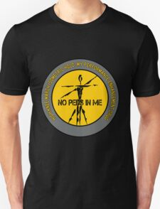 High Knee March Isometric Hold - My Performance Enhancement Drug T-Shirt