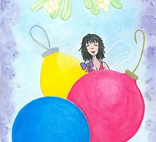 The Fairy Lolly Gives Winter Kisses and Holiday Wishes by Emily Alexander
