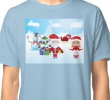 Santa and Mrs Claus Classic T-Shirt