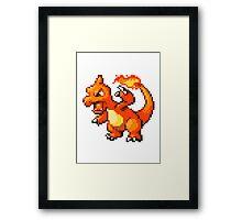 Pokemon - Chamelion Sprite Framed Print