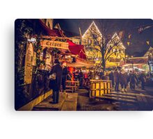 The Crepe Stand  Metal Print