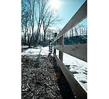 Across the bridge  Photographic Print