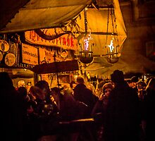 Meeting Friends for a Glühwein by Boston Thek Imagery