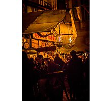 Meeting Friends for a Glühwein Photographic Print