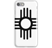 ZIA SUN SYMBOL iPhone Case/Skin