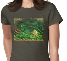 The Princess and the Dragon Womens Fitted T-Shirt