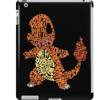 Charmander Made Out of His Moves! iPad Case/Skin