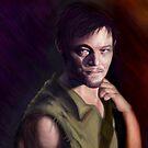 Daryl Dixon by SarahmRobbins