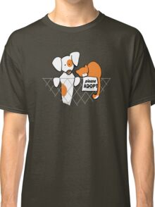 Please Adopt Shelter Pets | Patch & Rusty™ Classic T-Shirt
