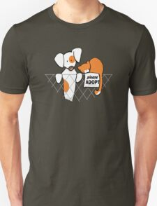 Please Adopt Shelter Pets | Patch & Rusty™ Unisex T-Shirt