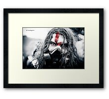 Frozen blood Framed Print