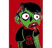 Zombie Dude Photographic Print