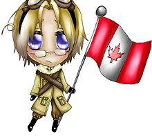 Chibi Canada by zeecyanide
