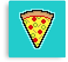 Pixel Pizza Canvas Print