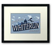 Greetings from Whiterun Framed Print