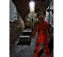 zombie prisoner Photographic Print