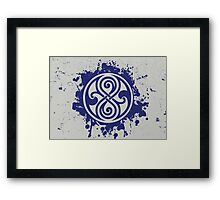 Doctor Who Seal of Rassilon Framed Print