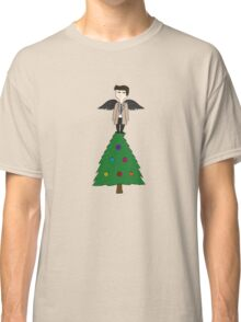 Top Of The Christmas Tree Castiel Classic T-Shirt