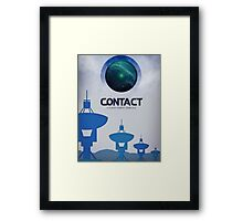 Contact Movie Poster Framed Print