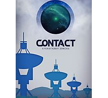 Contact Movie Poster Photographic Print